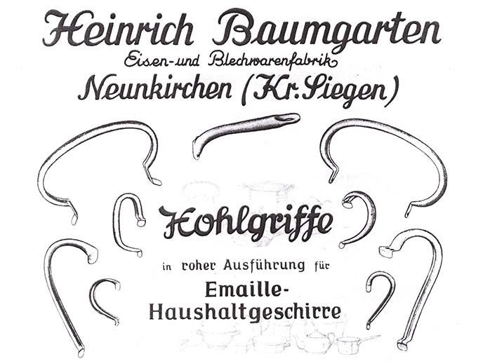 Baumgarten-Hohlgriffe