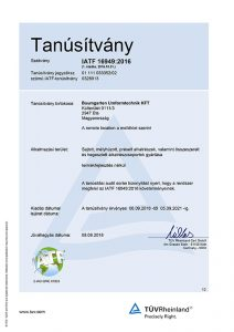 Zertifikat-BAUMGARTEN-KFT_IATF16949-Ung