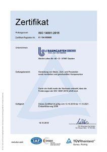 Zertifikat-BAUMGARTEN-GmbH-ISO14001-DE